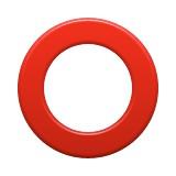 Red circle emoji