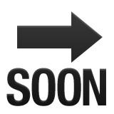 Arrow pointing right or SOON emoji