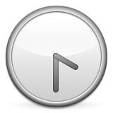 Clock at 4:30 emoji