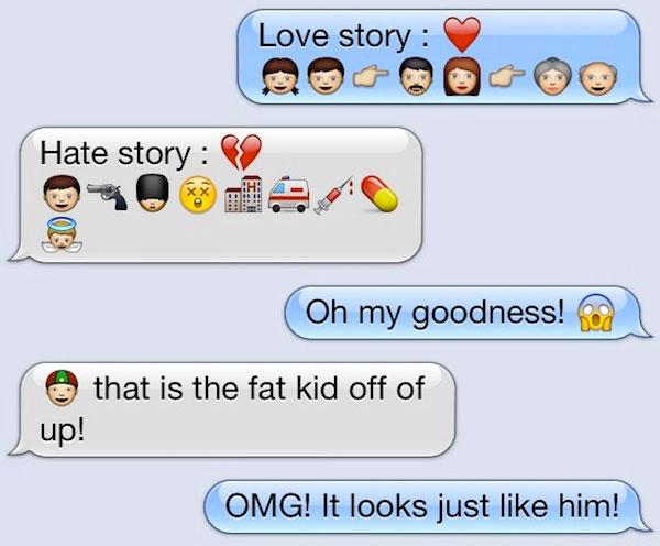 Emoji Conversations | Talk Emoji | The Funniest Emoji ...